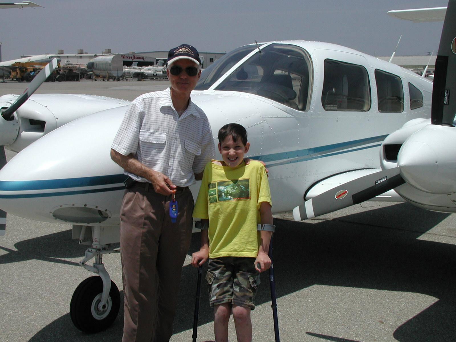 Dr  David Meldrum, Angel Flight, Redondo Beach California